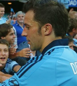 Del Piero rinnova con il Sydney | © Mark Kolbe/Getty Images Sport