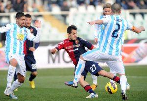 Sau, protagonista del match con una doppietta © Giuseppe Bellini/Getty Images