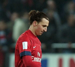 Zlatan Ibrahimovic | ©FREDERICK FLORIN/AFP/Getty Images