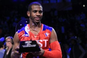 Chris Paul Mvp dell'All Star Game 2013 | ©Ronald Martinez/Getty Images