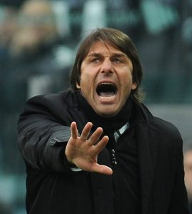 Conte carica la Juventus | © Valerio Pennicino/ Getty Images Sport