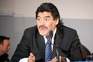 Diego Armando Maradona  – Conferenza Stampa – Ph. A. Moraca
