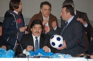 Diego Armando Maradona - Conferenza Stampa - © Ph. A. Moraca