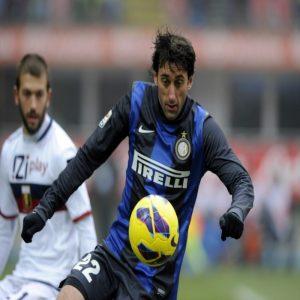 Diego Milito © Claudio Villa Getty Images Sport