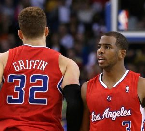 Blake Griffin e Chris Paul si riprendono i Clippers | ©Ezra Shaw/Getty Images