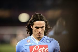Edinson Cavani ©ROBERTO SALOMONE/AFP/Getty Images
