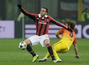 Pazzini torna al centro dell'attacco rossonero © Claudio Villa/Getty Images