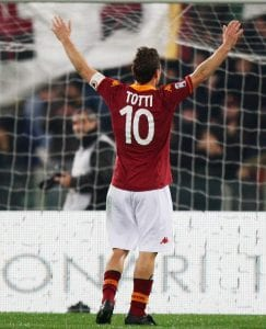 Francesco Totti gol n. 225    © Paolo Bruno/ Getty Images