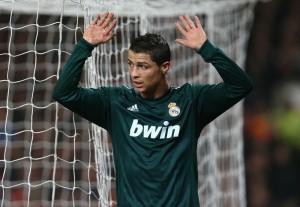 Ronaldo, quasi si scusa dopo la rete del vantaggio © Jasper Juinen/Getty Images