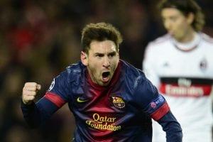Leo Messi si sblocca con le italiane   ©JAVIER SORIANO/AFP/Getty Images