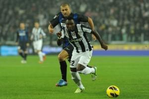 Uno scorcio della sfida d'andata fra Juventus e Inter   © Valerio Pennicino/Stringer / Getty Images