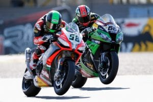 Eugene Laverty e Tom Sykes