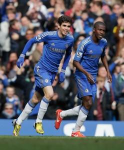 Oscar, il talento del Chelsea prelevato da Abramovic | © Dean Mouhtaropoulos/Staff / Getty Images