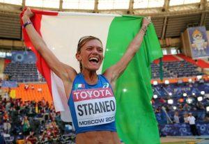 Valeria Straneo medaglia d'argento | © Ian Walton / Getty Images