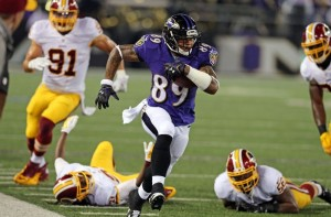 steve-smith dei Baltimore Revens.