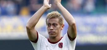 Honda e il Milan va, bene Toro, Atalanta e Palermo, stop Samp