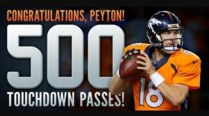 Giornata memorabile per Peyton Manning | Foto Twitter