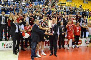 La Lube Banca Marche vince la Supercoppa Italiana di volley maschile | Foto Twitter