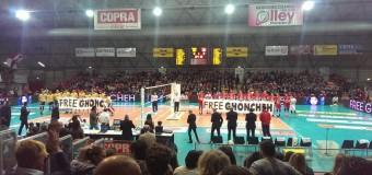 Volley maschile, Modena é inarrestabile