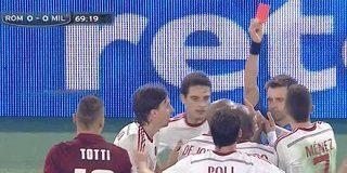 Roma frenata da un buon Milan, all'Olimpico è 0-0