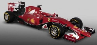 La Ferrari svela la nuova vettura, la SF15-T