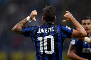 Jovetic segna il gol vittoria per l'Inter   Foto Twitter