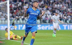 Con una rete di Thereau l'Udinese sbanca lo Juventus Stadium