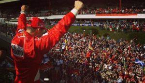 Michel Schumacher festeggia la vittoria   Foto Twitter